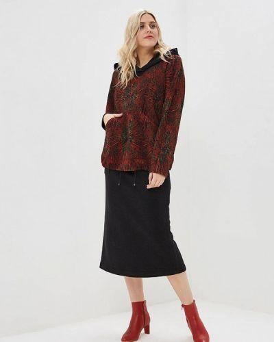 Юбочный костюм красный авантюра Plus Size Fashion