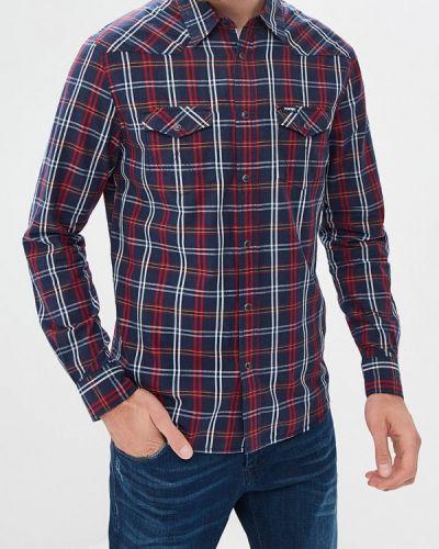 Синяя рубашка с длинным рукавом Wrangler