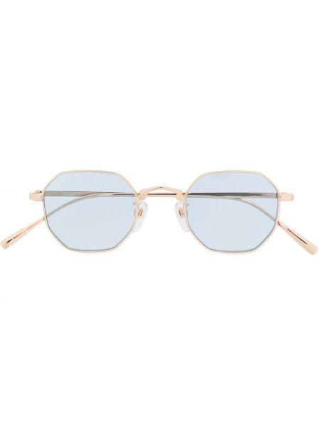 Złote niebieskie okulary Undercover