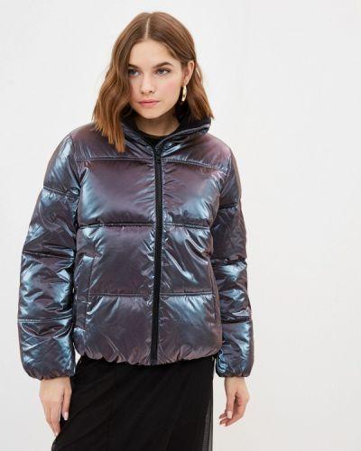 Фиолетовая утепленная куртка Calvin Klein Jeans