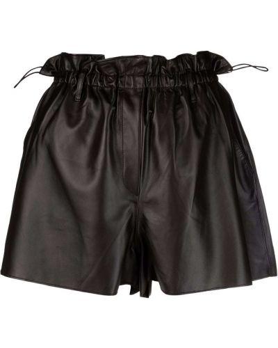 Черные хлопковые шорты Forte Forte