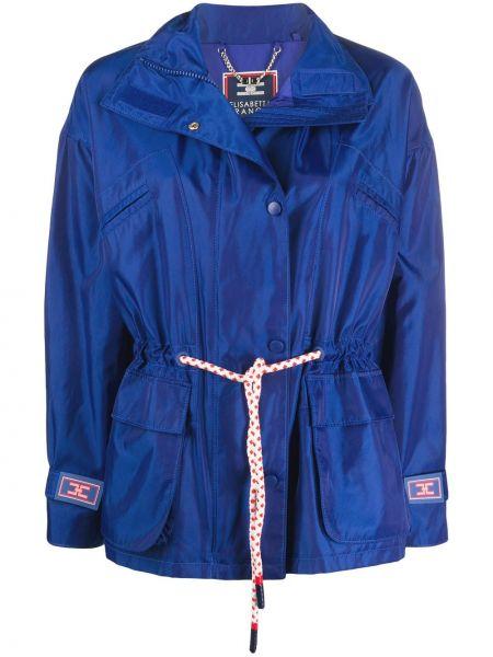 Куртка с карманами прямая Elisabetta Franchi