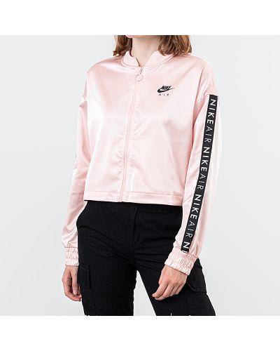 Спортивная куртка розовая Nike