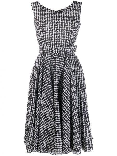 Платье миди с поясом на молнии Samantha Sung