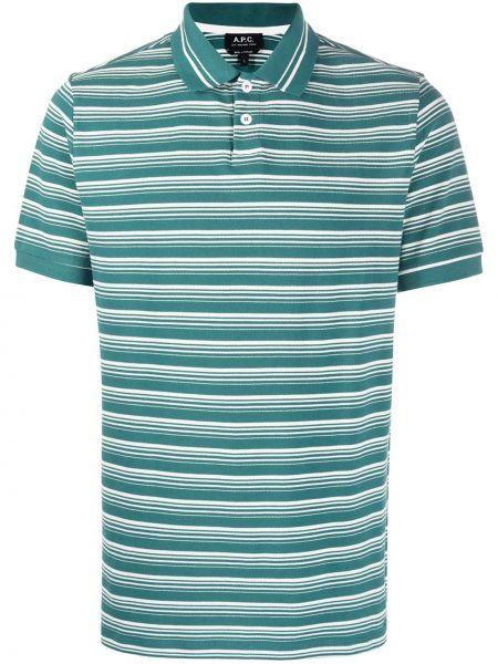 Koszula krótkie z krótkim rękawem klasyczna z paskami A.p.c.