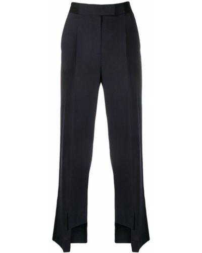 Черные деловые классические брюки с поясом Frenken