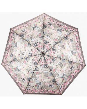 Складной зонт - серый Fabretti
