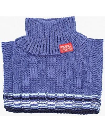 Синий шарф Tutu