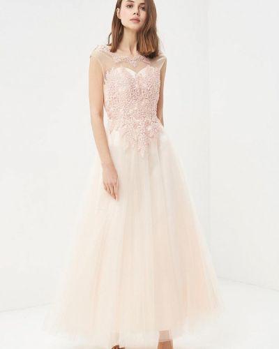 Платье розовое Paccio