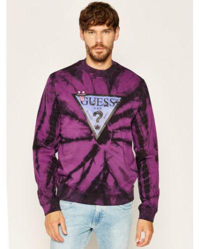 Fioletowa bluza Guess