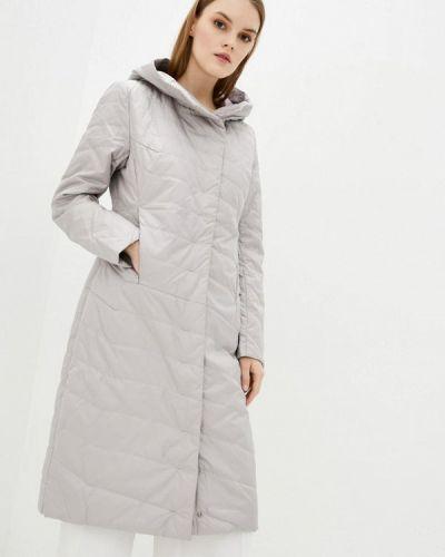 Серая утепленная куртка Clasna