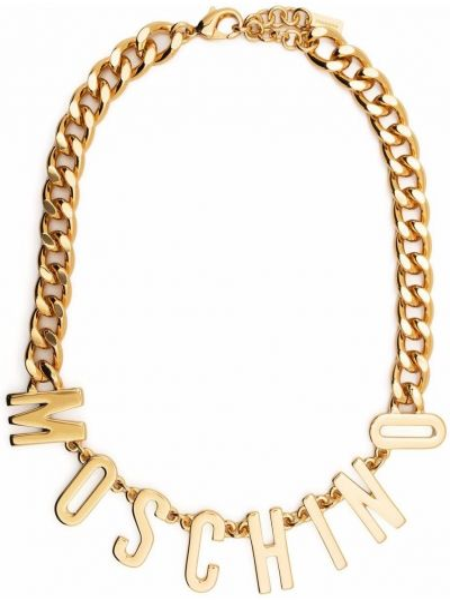 Złoty łańcuszek Moschino