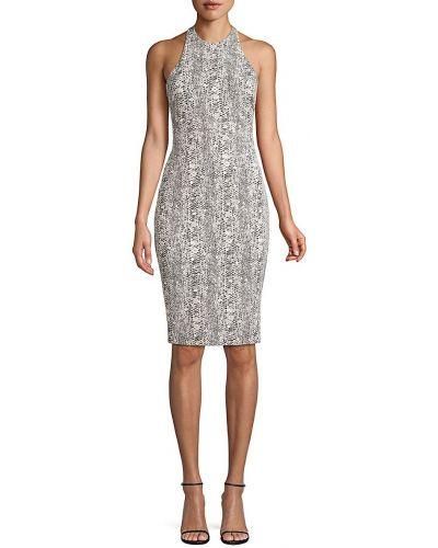 Платье футляр без рукавов с принтом из кожи питона Likely
