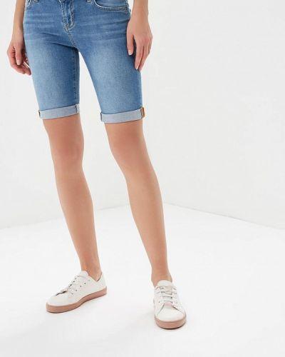 Джинсовые шорты голубой Colin's