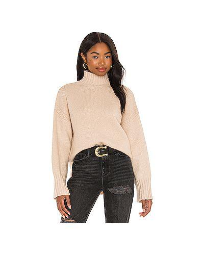 Кашемировый свитер с воротником с разрезом Frame