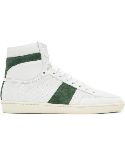 Wysoki sneakersy, biały Saint Laurent