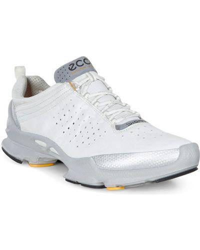 Кроссовки на каблуке белый Ecco