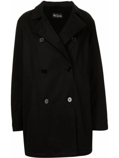 Длинное пальто - черное Mes Demoiselles