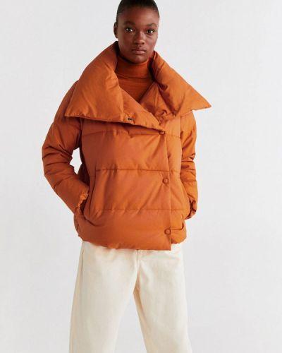 Утепленная куртка демисезонная осенняя Mango