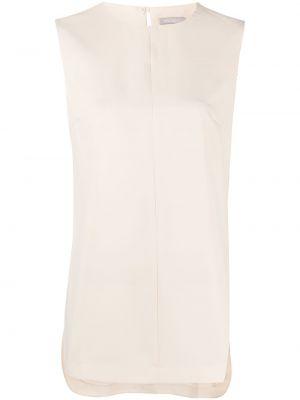 Bluzka asymetryczna - beżowa 12 Storeez