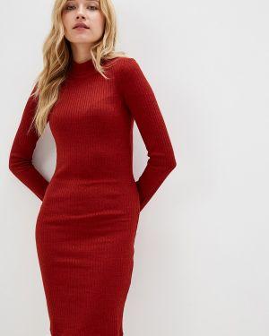 Платье вязаное красный Ostin