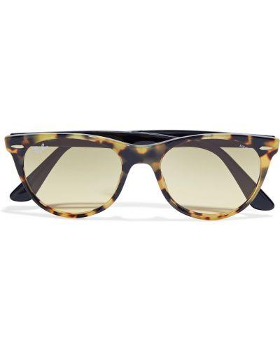 Etui na okulary z printem - brązowe Ray-ban