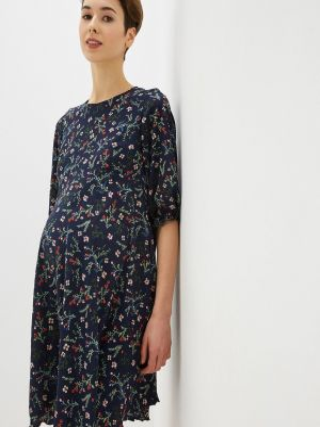 Платье - синее 9месяцев 9дней