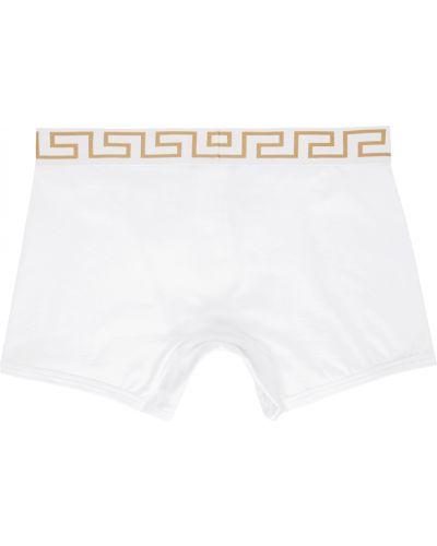 Figi - białe Versace Underwear