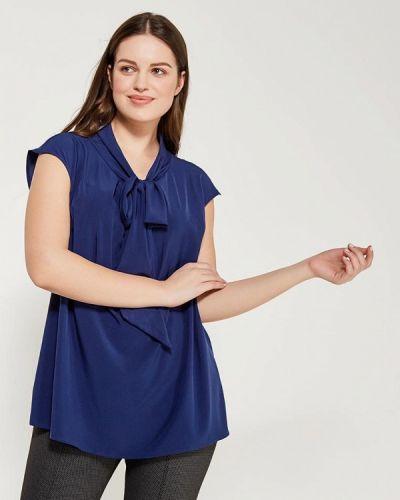 Блузка осенняя синяя Darissa Fashion