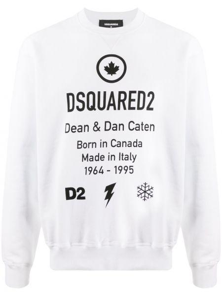 Bluza na szyi długo Dsquared2