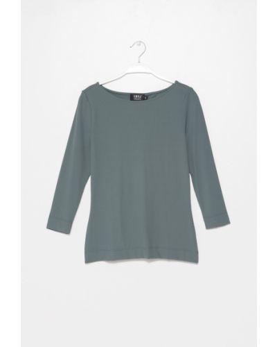 Блузка трикотажная с вырезом Simple