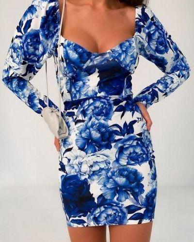 Нарядное платье с декольте Missguided