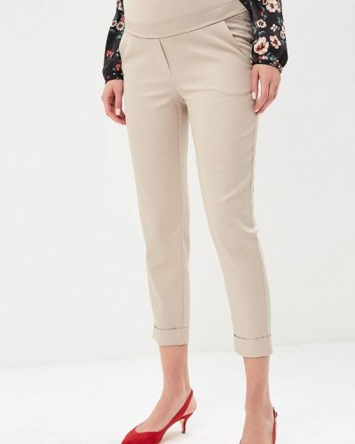 Бежевые брюки Mammysize