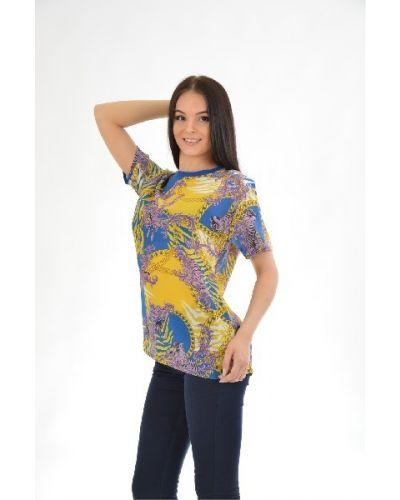 Шелковая блузка Versace Jeans