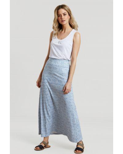 Niebieska spódnica Mountain Warehouse