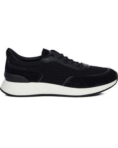 Czarne sneakersy Ermenegildo Zegna