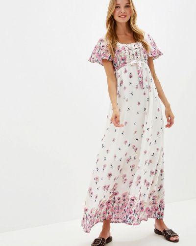Платье весеннее прямое Adzhedo
