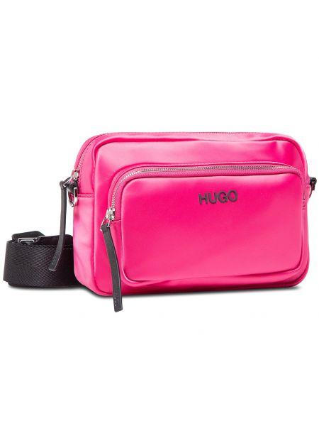 Różowa torebka Hugo