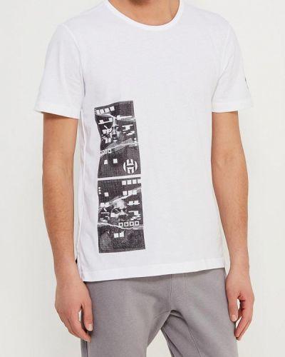 Белая футболка Adidas