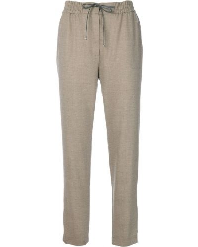 Укороченные спортивные брюки - бежевые Le Tricot Perugia