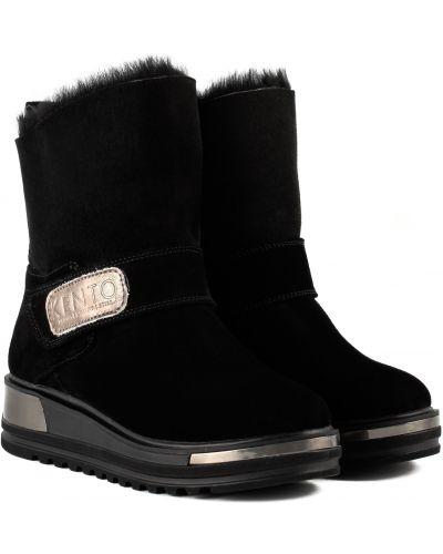 Ботинки - черные Kento