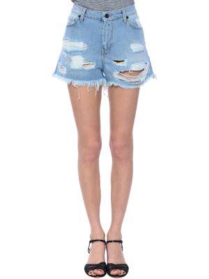 Хлопковые шорты - голубые Up Jeans