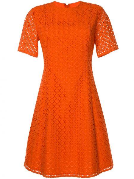 Платье мини короткое - красное Ck Calvin Klein