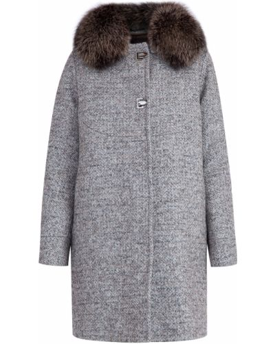 Пальто из альпаки шерстяное Moorer