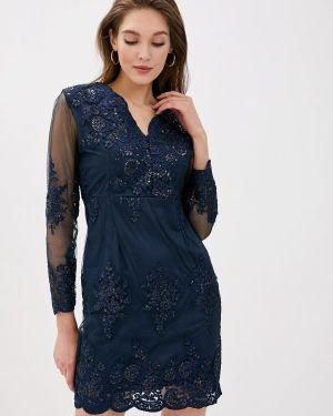 Вечернее платье - синее Vagi