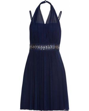 Вечернее платье мини со стразами Bonprix