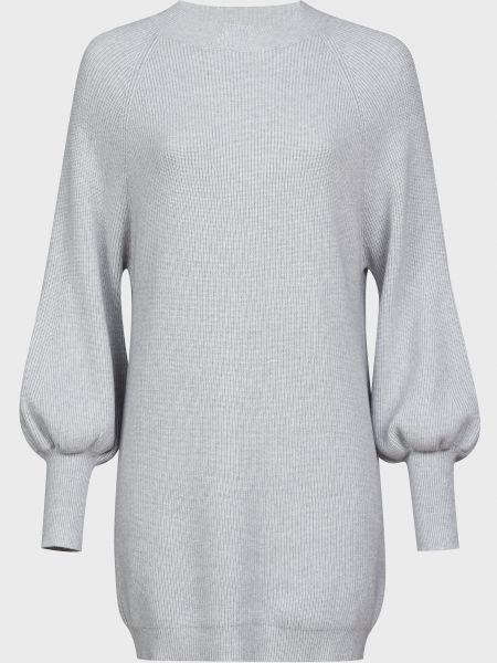 Платье из ангоры - серое Vicolo