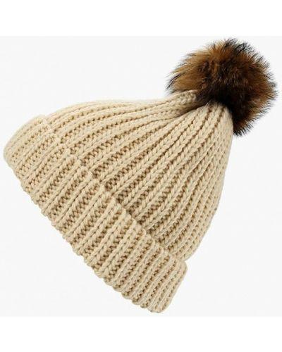 Бежевая шапка осенняя Ostin