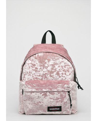 Рюкзак с отделениями велюровый Eastpak
