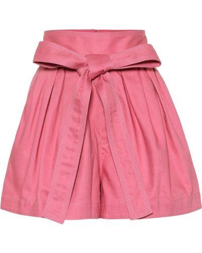 Однобортные розовые шорты Marc Jacobs